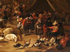 Detail images: Hendrick Martensz Sorgh, 1610 - 1670, zug.