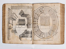 Detail images: Serlio, Sebastiano. Il Libro primo (-quinto) di Architettura