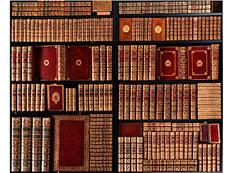 Detail images: Bibliothek Nr. 2, Teil I Library No. 2, Part 1
