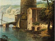 Detailabbildung: Paolo Anesi, 1700 - 1761, zug.