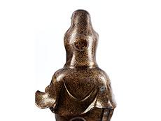 Detail images: Goldtauschierte Guanyin