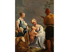 Detail images: Jean-Baptiste Charpentier, 1728 - 1806, zug.