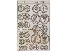 Detail images: Numismatik mit vielen Kupfern