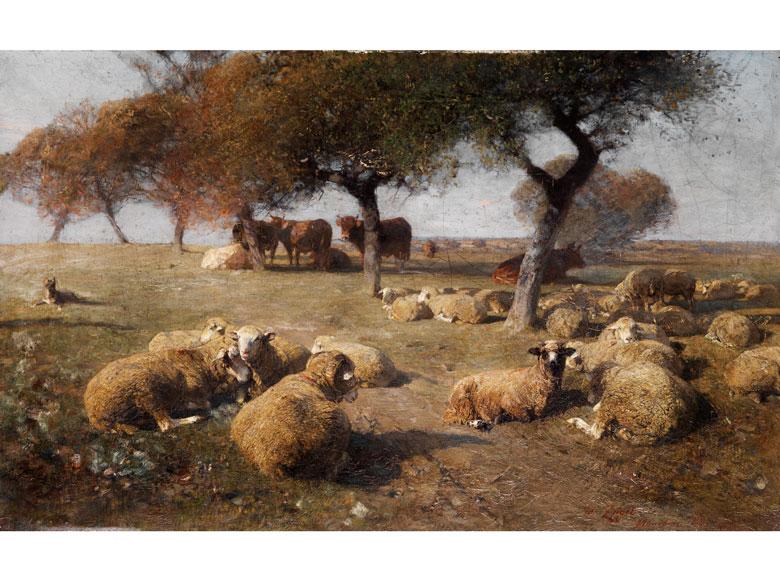 Heinrich Johann von Zügel, 1850 Murrhardt - 1941 München