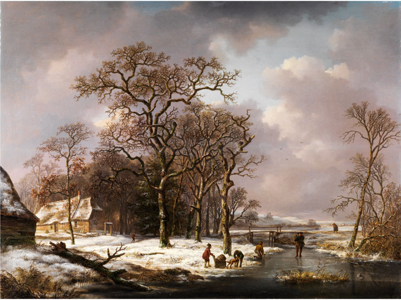 Andreas Schelfhout, 1787 - 1870