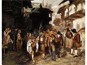 Franz von Defregger, 1835 Stronach - 1921 München