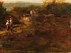 Detail images: Münchner Maler in Art von Carl Spitzweg und Willy Moralt