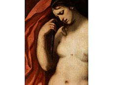 Detailabbildung: Francesco Furini, 1604 - 1646, zug./ Art des