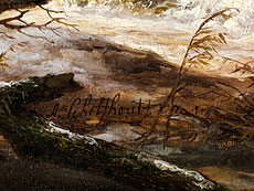 Detail images: Andreas Schelfhout, 1787 - 1870
