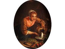 Detail images: Maler der holländischen Schule des 17./ 18. Jahrhunderts