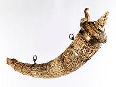 Detailabbildung:  Olifantenhorn in Elfenbein