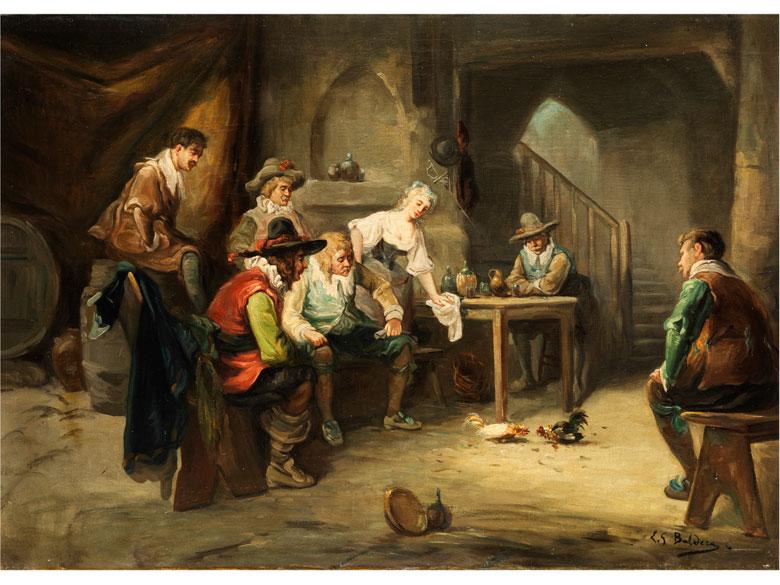 L. G. Baldera Italienischer Maler des 19./ beginnenden 20. Jahrhunderts