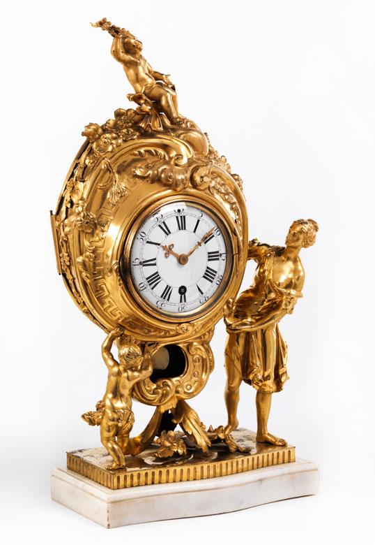 Louis XVI-Kaminuhr