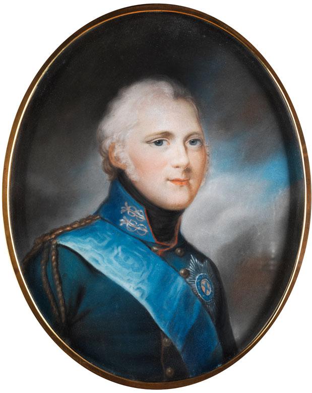 Der zukünftige Kaiser von Russland, Zar Alexander I. Pawlowitsch Romanow
