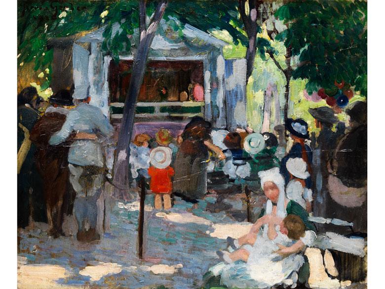 Pierre-Luc Gerber, Maler des 20. Jahrhunderts