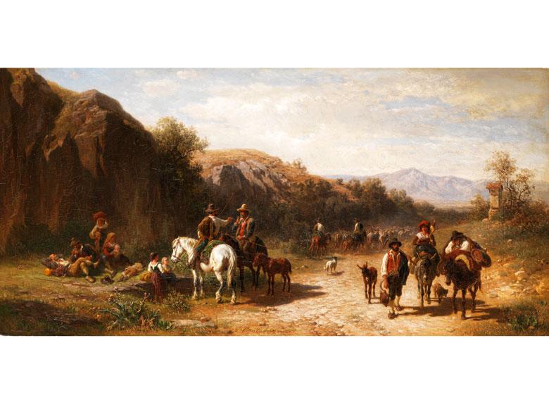 Gustav Jakob Canton, 1813 Mainz - 1885 München