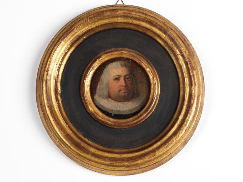 Miniaturgemälde eines Herren des 17. Jahrhunderts