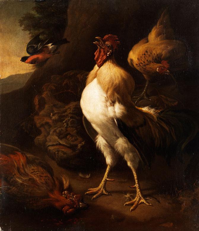 Melchior de Hondecoeter, 1636 Utrecht - 1695, zug./ Nachfolge des