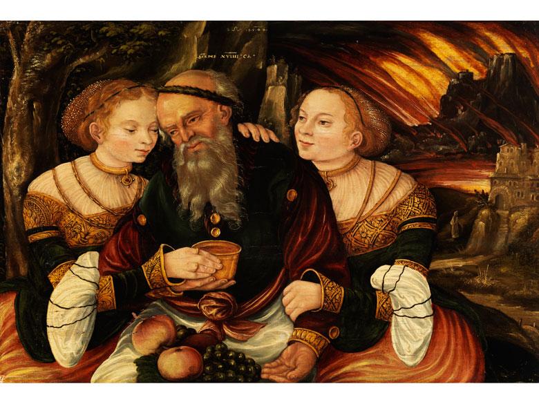 Lucas Cranach d. J., 1515 - 1586, zug./ Werkstatt des