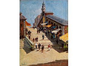 T. Vianello, italienischer Maler des 20. Jahrhunderts
