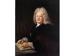 Antoine Pesne, 1683 Paris - 1757, Replique/ Werkstatt Möglicherweise von dem Pesne-Schüler Falbe