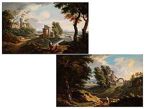 Andrea Locatelli, 1693 - 1741, zug.