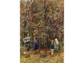 P.S. Kaljagin Russischer Maler des 20. Jahrhunderts