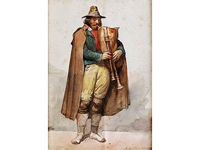 N. Achili, römischer Maler des 19. Jahrhunderts
