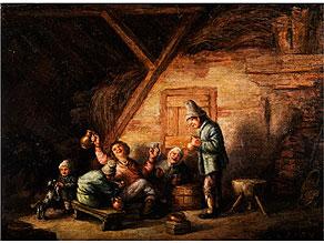 Holländischer Maler in der Bildtradition von Adriaen Jansz van Ostade, 1610 - 1685