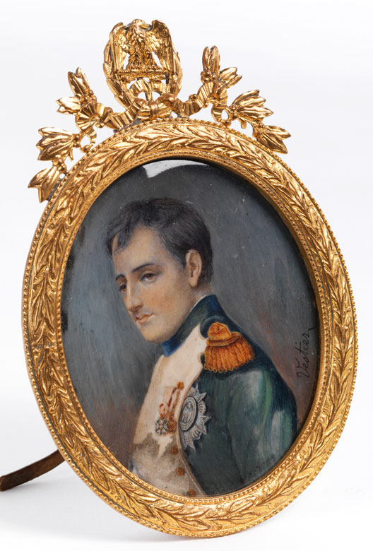 Miniaturportrait Kaiser Napoleons