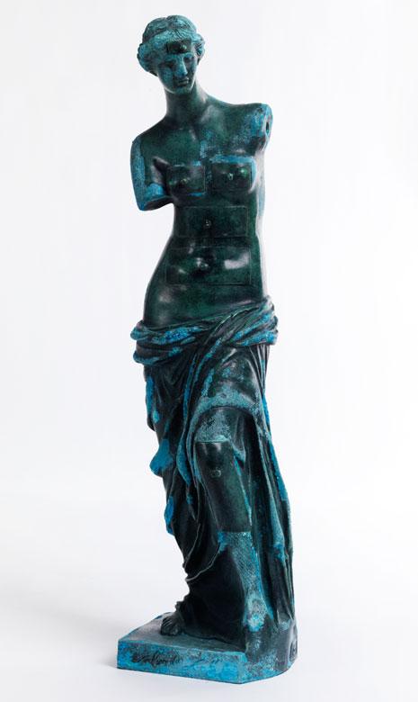 Venus von Milo mit Schubladen