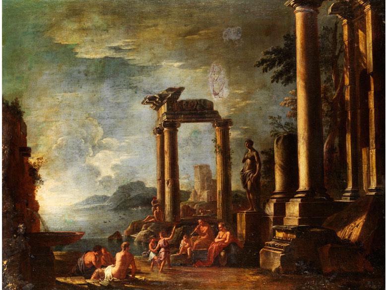 Giovanni Ghisolfi, 1623 Mailand - 1683, zug.