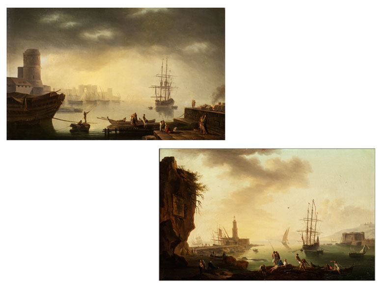 Claude Joseph Vernet, 1714 Avignon - 1789 Paris, Umkreis
