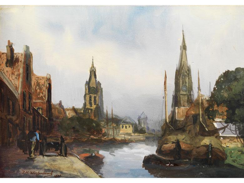 Jan Hendrik Weissenbruch, 1824 - 1903