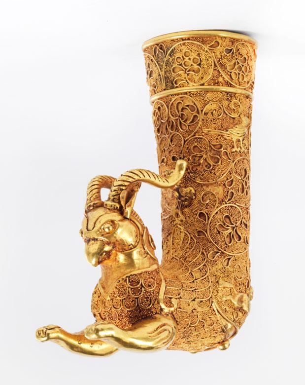 Persischer Goldrhyton