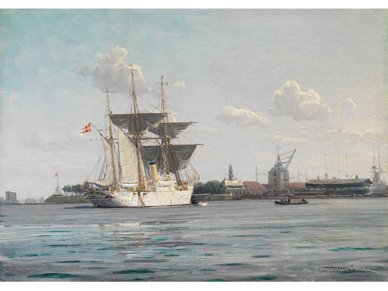 Christian Benjamin Olsen, 1873 - 1935 Dänemark
