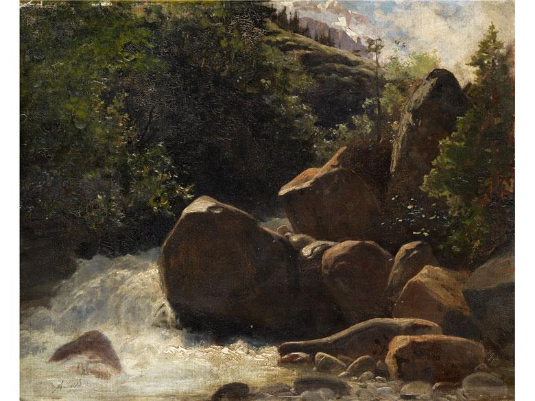 Albert Henri John Gos, 1852 - 1942