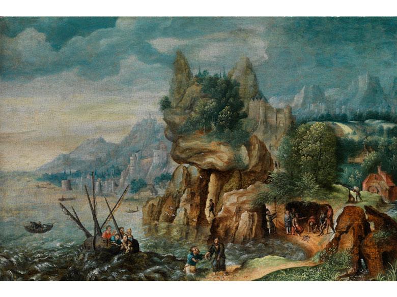 Joos de Momper, d. J., 1564 Antwerpen - 1635, zug.