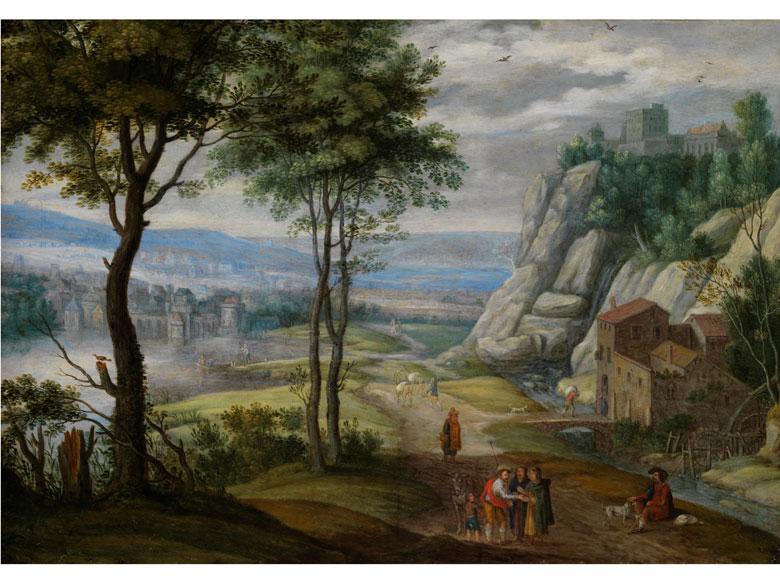 Isaac van Oosten, 1613 - 1661, zug.