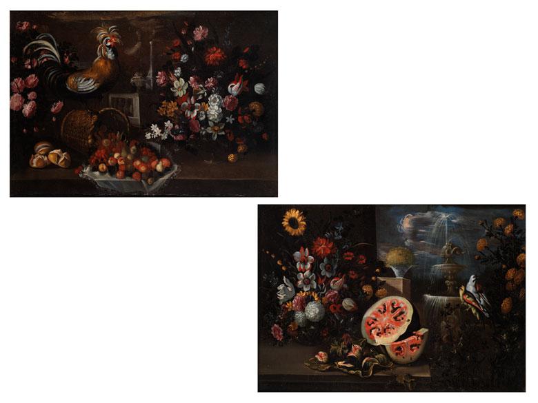 """Italienischer Maler des 17. Jahrhunderts, dem lombardischen Monogrammisten """"FGB , zug."""