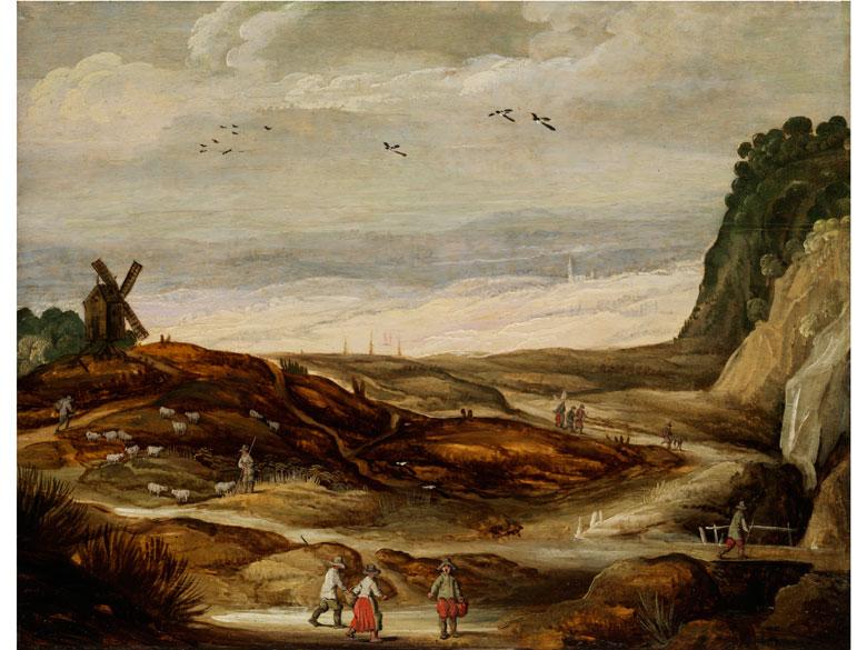 Joos de Momper d.J., 1564 Antwerpen - 1635, zug.