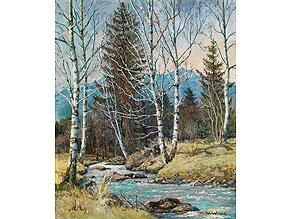 Max Märtens, 1887 Braunschweig - 1970 Gstadt Maler der jüngeren Münchner Schule