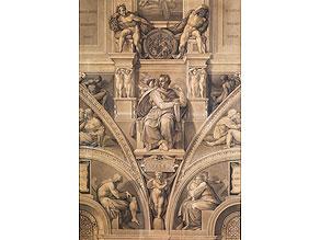 Esaiasdetail der Sixtinischen Kapelle