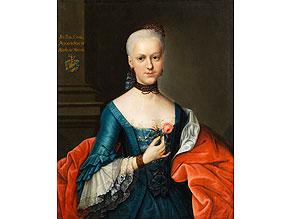 Johann Heinrich Tischbein d. Ä., 1722 Haina - 1789 Kassel, Umkreis des