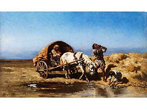 August Xaver Carl von Pettenkofen, 1822 Wien - 1889