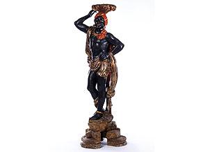 Venezianische Mohrenfigur