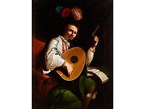 Niederländischer Maler des 18. Jahrhunderts, in der Maltradition des 17. Jahrhunderts aus dem Kreis von Gerrit van Honthorst