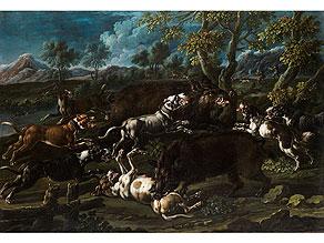 Cajetan Roos, 1690 Rom - 1770 Wien, zug.