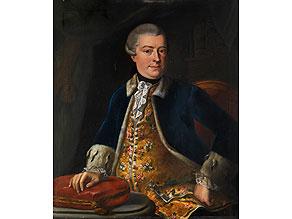 Deutscher Maler des 19. Jahrhunderts,  im Umkreis/ Nachfolge von   Johann Heinrich Tischbein d. Ä.,  1722 Haina - 1789 Kassel