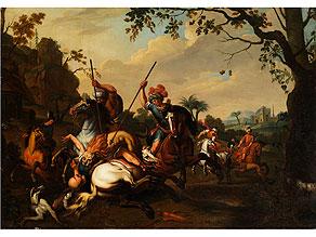 Deutsch-/ niederländischer Maler des 18. Jahrhunderts